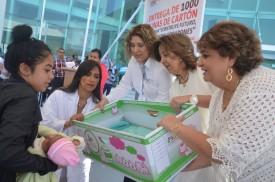 LA SSA REALIZA ENTREGA DE 100 CUNAS DE CARTÓN