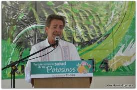 El Gobernador del Estado puso en marcha la Primera Reunión de la Red Potosina de Municipios por la Salud