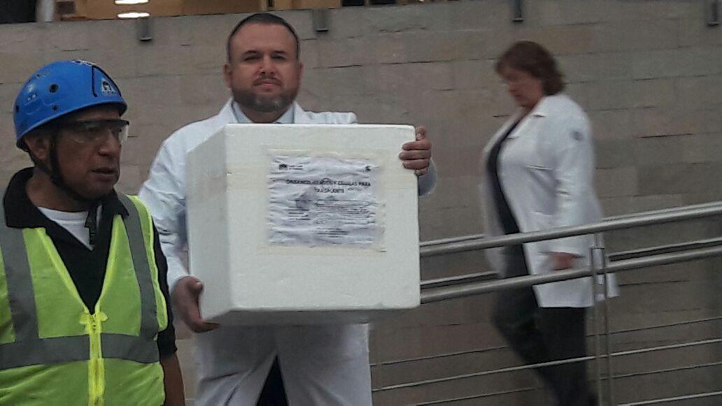 Incrementa 8% la procuración de organos en México