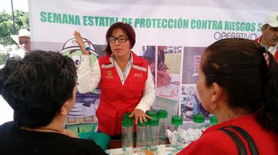 ARRANCAN ACTIVIDADES DE LA SEMANA ESTATAL DE PROTECCIÓN CONTRA RIESGOS SANITARIOS EN TODO EL ESTADO